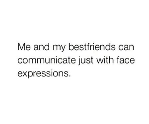 friends, face, and quote image