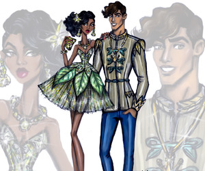disney, hayden williams, and tiana image