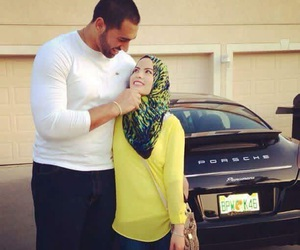 couple, gorgeous, and muslim image