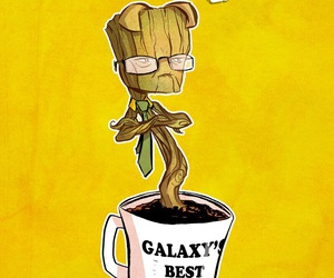 dwight, the office, and guardians of the galaxy image