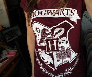 harry potter, hogwarts, and tshirt image