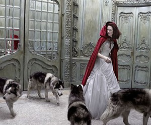red riding hood, fairy tale, and Eugenio Recuenco image