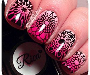 beauty, manicure, and nail art image