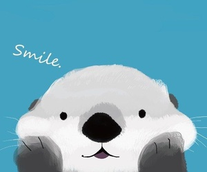 wallpaper, smile, and background image