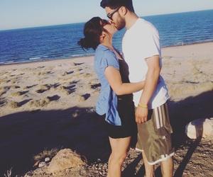 beach, boyfriend, and love image