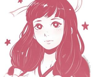girls, kawaii, and manga image