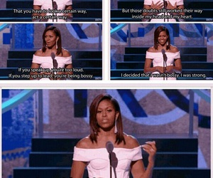 equality, michelle obama, and inspiration image
