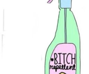 bitch, repellent, and overlay image