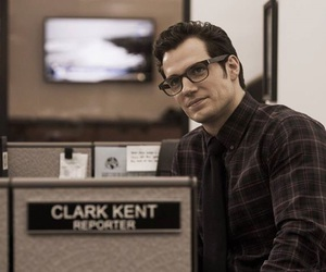 superman, Henry Cavill, and clark kent image