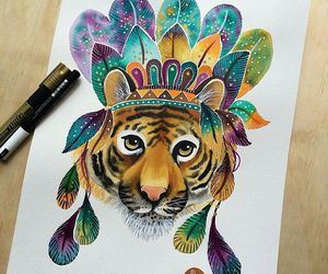 colors, draw, and tiger image
