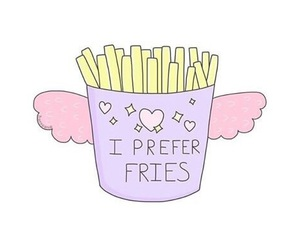 fries, overlay, and food image