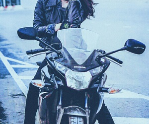 motorcycle and travel image