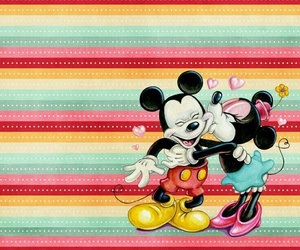 mouse and mickey & minnie image