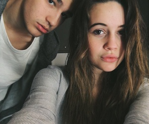 bea miller, jacob whitesides, and couple image