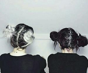hair, grunge, and tumblr image