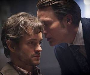 hannibal, hugh dancy, and mads mikkelsen image