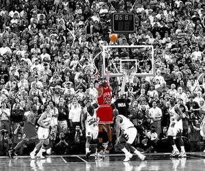 michael jordan, Basketball, and air jordan image