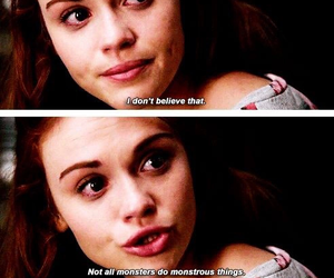 teen wolf, monster, and lydia martin image