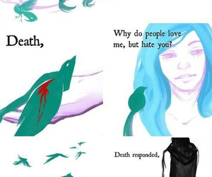 life, death, and truth image