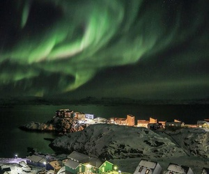 aurora, aurora borealis, and beautiful image