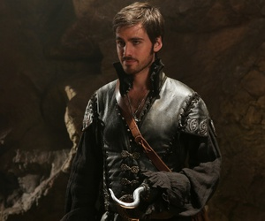 once upon a time and hook image