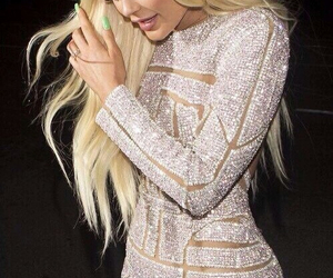 kylie jenner, dress, and blonde image