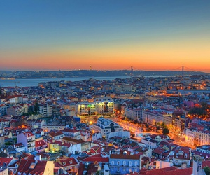 lisbon, portugal, and city image
