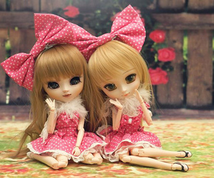 beautiful, model, and doll image