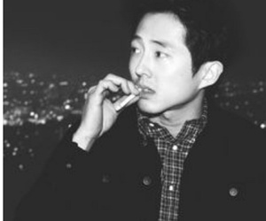 steven yeun, actor, and glenn image