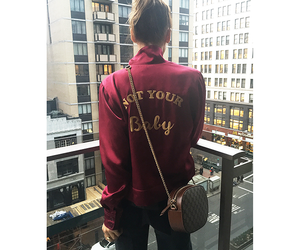 baby, city, and bag image