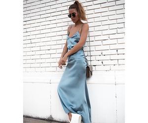 bag, dress, and vintage image