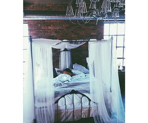 bed, sleep, and heaven image