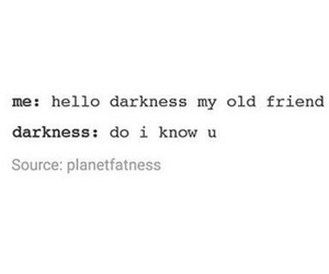 cool, dark, and Darkness image