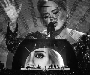 25, Adele, and live image