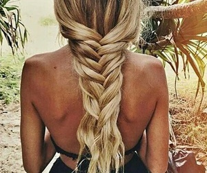 blonde, summer, and tail image