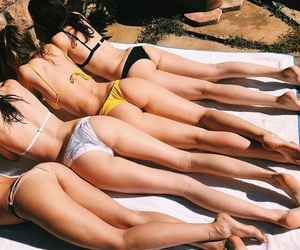 cool, summer, and friends image