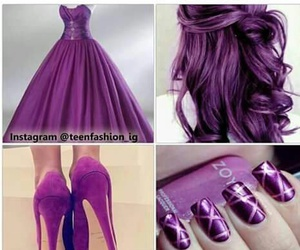 dress, lush, and shoes image