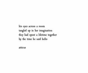 art, atticus, and poem image