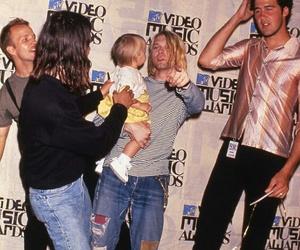 dave grohl, grunge, and kurt cobain image