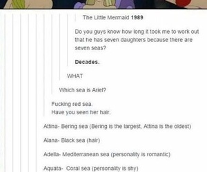 disney, ariel, and tumblr image