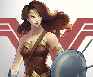 DC and wonder woman image