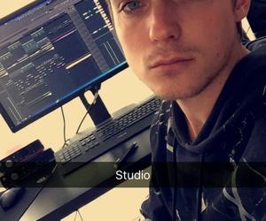 dj, music, and studio image