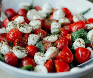 basil, fiber, and tomato image