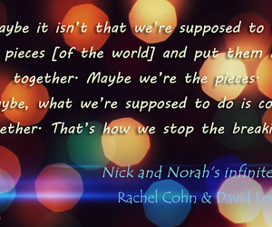 frase, quote, and nick and norah image