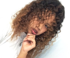 curls and curlyhair image