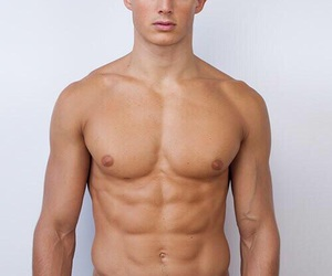 Hot, abs, and guy image