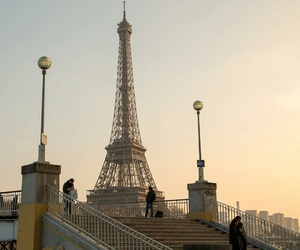 eiffel tower, france, and wanderlust image