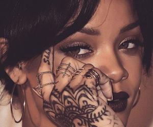 rihanna, riri, and tattoo image