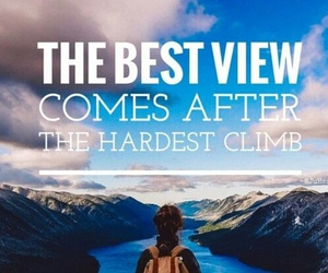 quotes, climb, and inspiration image