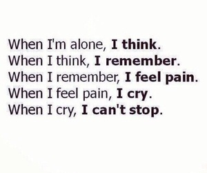 quotes, cry, and pain image